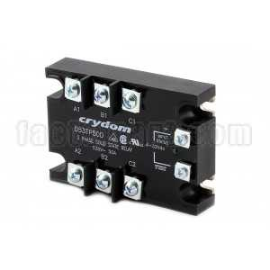 Solid State Relay Crydom D53TP50D PANEL MOUNT SSR-3 PHASE