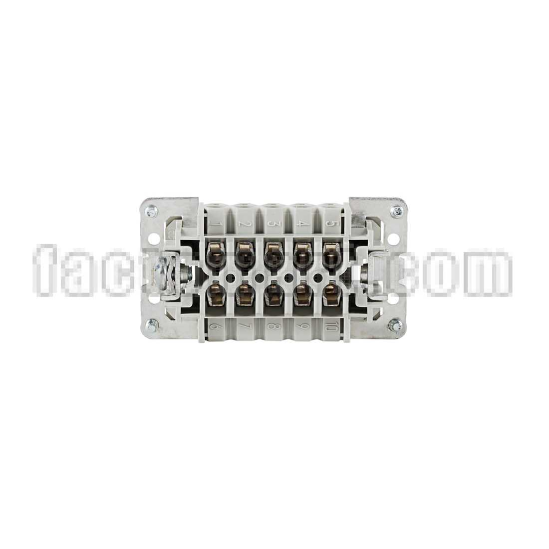 Multipole connector WIELAND 70.310.1040.0 1